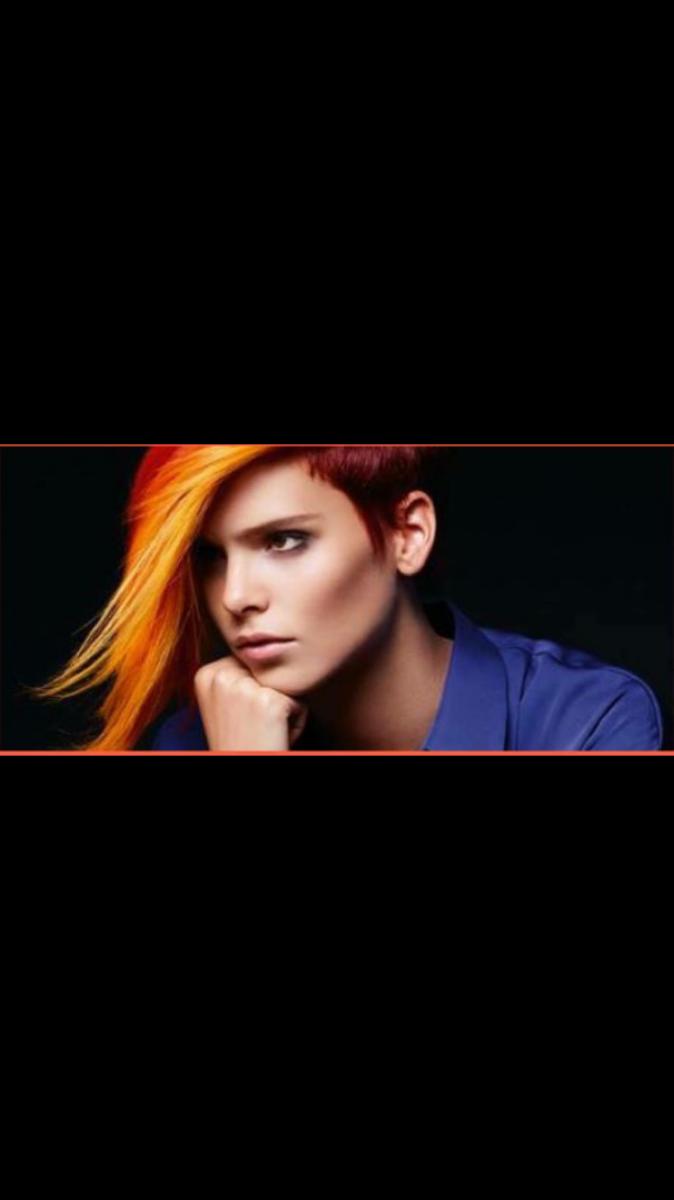 color worx chez louna rose coiffure marseille - Coloration Pas Cher Coiffeur